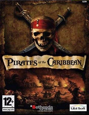 Pirates of the Caribbean - video game cover