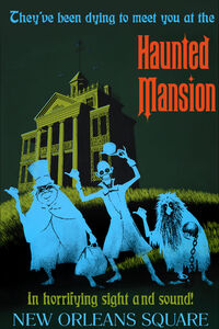 The Haunted Mansion Disneyland