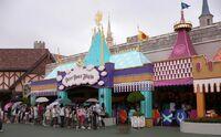 Peter Pan's Flight Tokyo Disneyland