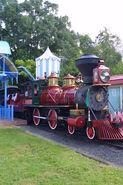 Walt disney world railroad no 4