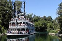 Mark Twain Riverboat Disneyland