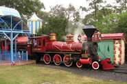 Walt Disney World Railroad train