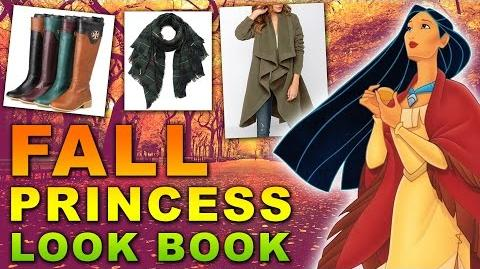 Disney Princess Fall Fashion Lookbook Rapunzel, Cinderella, Pocahontas & More!