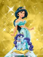 Jasmine and lapis 2 by unicornsmile-d9hjnnf
