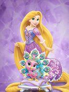 Rapunzel and sundrop 2 by unicornsmile-d9hnui6