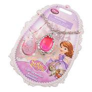 Light Up Pink Amulet