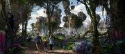 Avatar Land concept