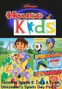 Disney's House of Kids - Salute to Sports 8- Dora & Team Umizoomi's Sports Day Part 2