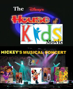 The Disney's House of Kids Movie - Mickey's Musical Concert