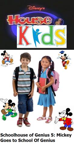 File:Disney's House of Kids - Schoolhouse of Genius 5 Mickey Goes to School Of Genius.png