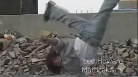 Kickn' It's Leo Howard in Martical Arts