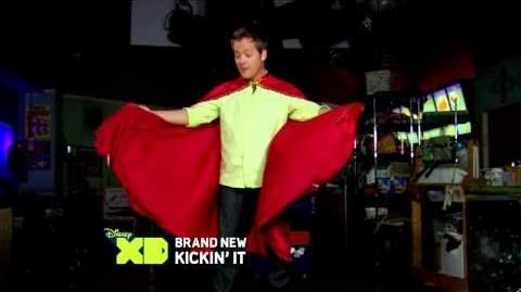 Rudy's Hero - Behind the Scenes - Kickin' It - Disney XD Official