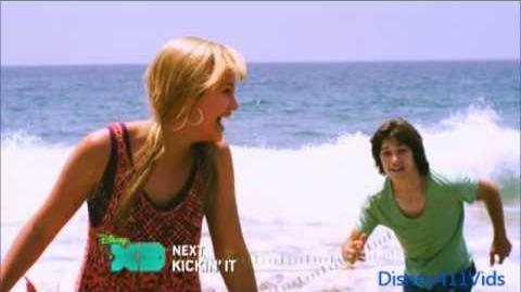 "Disney XD's ""Kickin' It"" summer bumper with Leo Howard and Olivia Holt"