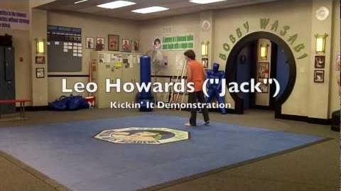 "Kickin' It Leo Howard (""Jack"") Martial Arts Demonstration (Feb"