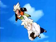 Gohan&GokuFlight