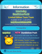 DisneyTsumTsum LuckyTime International BumblebeePooh Screen2 201503