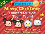 DisneyTsumTsum Lucky Time International Christmas2015 LineAd2 20151224