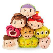 DisneyTsumTsum PlushSet ToyStory Mini 2015
