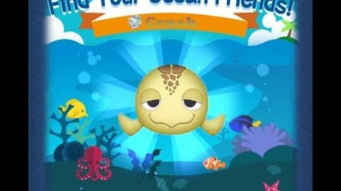 Disney Tsum Tsum - Crush (Find Your Ocean Friends Event - Mission 34)