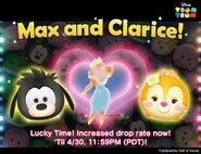 DisneyTsumTsum Lucky Time International MaxClarice LineAd2 20160428