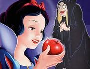 Evil Qeen and snow white