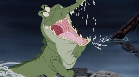 Peter Pan Diamond Edition - Captain Hook and Tic Tock Croc Clip