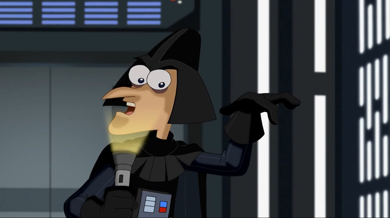 pinises and ferb star wars full movie