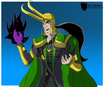 Avengers emh - loki god of mischief by fachala