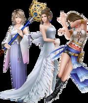 Yuna's Alt Costumes