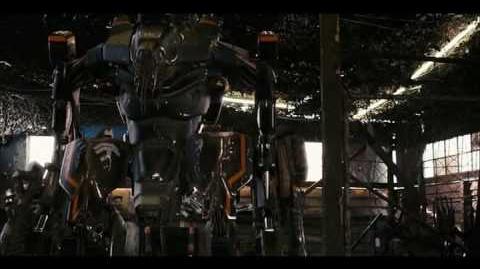 Biosuit scene from District 9