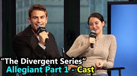 "The Divergent Series ""ALLEGIANT"" Shailene Woodley & Theo James Interview March 14th, 2016-0"