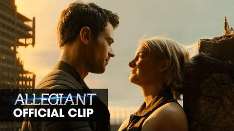 "The Divergent Series Allegiant Official Clip – ""Heights"""