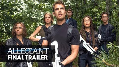 "The Divergent Series Allegiant Official Trailer – ""Different"""