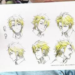 Anime facial expressions concept art