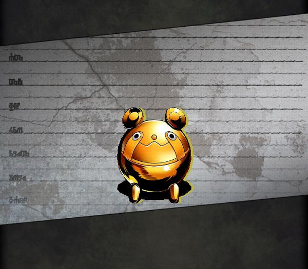 ID:247 メタルうーぱ:ゴールド
