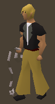 A player wielding the Legends Whip