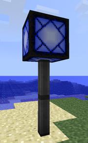 Dravite lamp