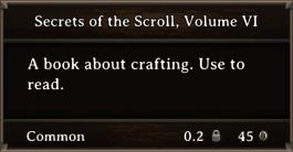 DOS Items Books Secrets of the Scroll, Volume VI