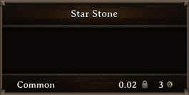 DOS Items Quest Star Stone