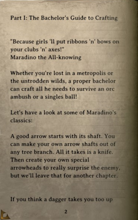 DOS Items Books Crafting and Cooking with Maradino Page2