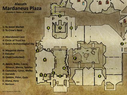 Mardaneus Plaza map (D2 FoV location)