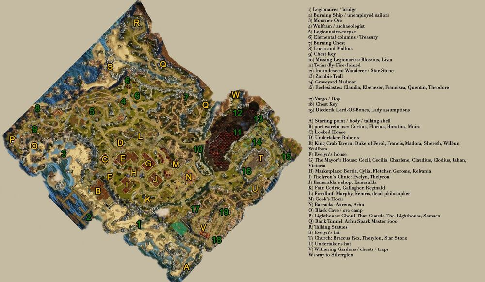DOS Cyseal Map