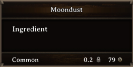 DOS Items CFT Moondust