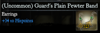 Guards Plain Pewter Band1