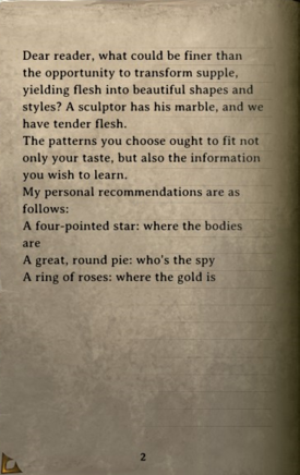 DOS Items Books A Guide to Elegant Torture, Volume I Page2