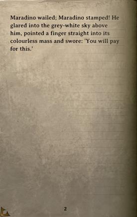 DOS Items Books Maradino's Cold Bones Page2