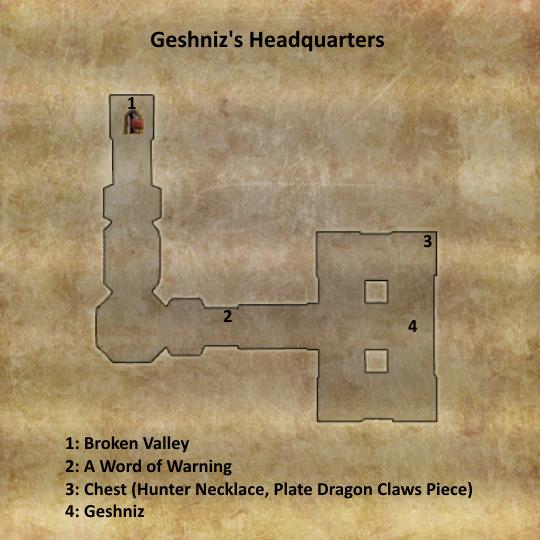 Divinity 2 Geshniz's Headquarters map