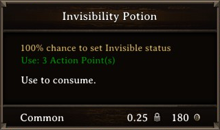 DOS Items Pots Invisibility Potion 2 Stats