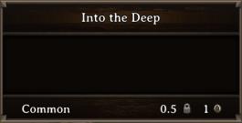 DOS Items Books Into The Deep