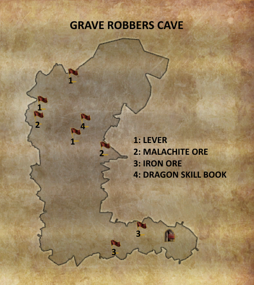 Divinity 2 Grave Robbers Cave map